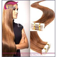 professional supplier skin weft seamless hair extension