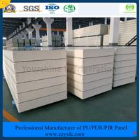 ISO, SGS 100mm PIR Sandwich Panel for Meat/ Vegetables/ Fruit