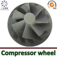 turbo spare parts aluminum alloy die  casting for outboard motor compressor wheel thumbnail image