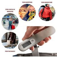 Smart Portable Digital Luggage Scale w/ 110 lb Capacity for Travel and Business Trip
