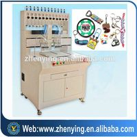 automatic dispensing cloth logo/pvc phonecase  machine
