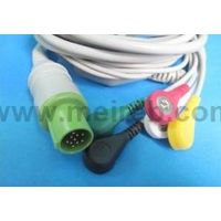Bruker One-piece ECG cable with lead wire