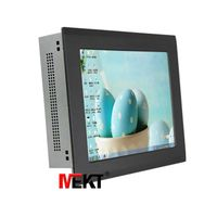 10 inch Intel celeron I7 8G Memory 64G SSD Harddisk all in one pc multi-touch capacitive touchscreen
