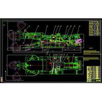 EBZ160 Underground Boring Machine Blueprints