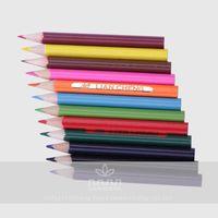 3.5 inch mini short wooden pencil,small color pencil
