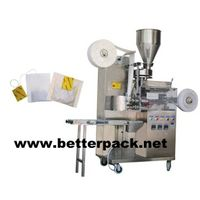 Tea bags packaging machines with string and tag thumbnail image