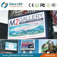 Outdoor p16 led message centers