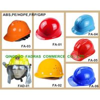 Heavy Duty PE/HDPE/ABS/FRP/GRP Work Safety Helmet for Construction, Fire Fighting/Fighter Helmet wit