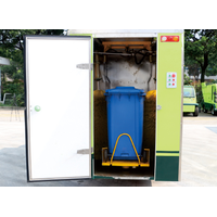 Electric dustbin cleaning vehicle thumbnail image