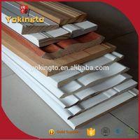 Decorative white primed wood picture rail moulding thumbnail image