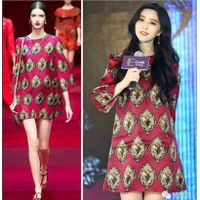 2015 Early Autumn New Style Noble Temperament Women Dress thumbnail image