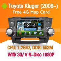Android Car DVD Player Toyota Kluger - GPS Navigation Wifi 3G thumbnail image