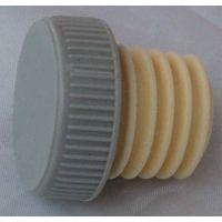 Plastic cap synthetic cork wine bottle stopper PLG 30.6-2