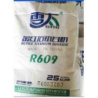 Plastic grade rutile tio2 R609 for plastic masterbatch rubber