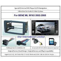 BENZ ML W163 2002-2005 Car DVD Player GPS Navi / Original Factory  Panel / Camera / Map Card thumbnail image