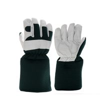 Long cuff safety Microfiber garden gloves for ladies and men