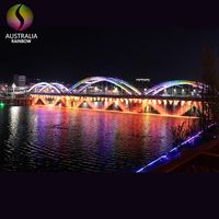 Outdoor Bridge Waterfall Water Curtain Fountain Indoor Graphical Curtain Fountain For Decoration