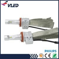 Philips LED Headlight H4 H7 H8 Car Light Auto Head Lamp