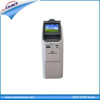 ST86 19'' self service payment kiosk machine with card reader