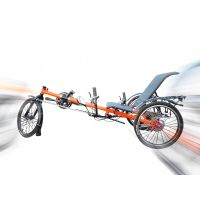 3 Wheels Foldable Recumbent Trike for Adult