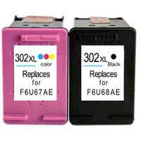 Latest Remanufactured Inkjet Cartridges HP302XL,F6U68AE,F6U67AE