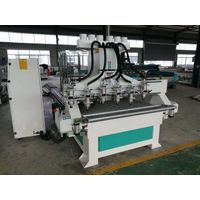 multi spindles cnc wood router machine with 2,2kw spindles thumbnail image