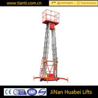 CE aluminium lift work platform with good price