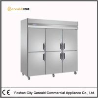 Compact Solid Doors Commercial Refrigerators For Sale