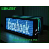 960x320mm 3G GPS taxi top led display led sign
