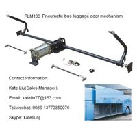 Bus door opening mechanism for bus luggage door(PLM100)