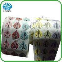 Direct manufacture customized waterproof printing adhesive custom label
