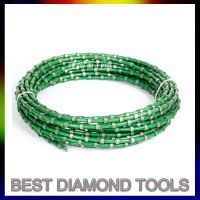 diamond wire saw for granite marble stone cutting