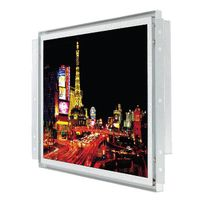 15inch Industrial Open Frame LCD Monitor/PCAP, IR, RES, SCAP, SAW Touch/ 450cd(Nit)/1024x768/RGB,DVI thumbnail image