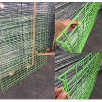 PVC Coated Wire Deck Mesh Deck manufacturersHeavy Duty Pallet Racking