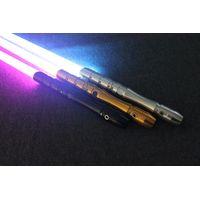 starwar Lightsaber with Light Sound Led Red Green Blue Saber laser Metal Sword Toys Birthday kid Gif thumbnail image