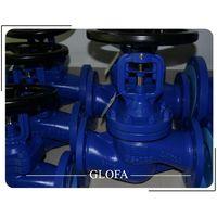 Handwheel Flanged CS A105&A216 WCB CL300 Bellow Sealed Globe Valve thumbnail image