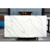 3313 calacatta borghini white quartz slab thumbnail image