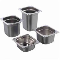 NEW COMMERCIAL STAINLESS STEEL FOOD CONTAINER
