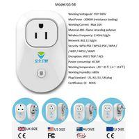 Smart Home wifi smart plug home automation lower priceEU Standard thumbnail image