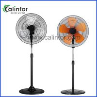 "Calinfor 18"" low power OEM&ODM height ajustable stand fan"