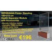 HEALTH-PROTECTING WALL MODULES - SEPARAVAN