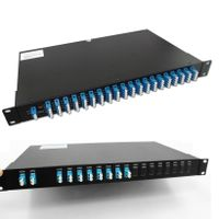 100GHz 8/16 Channels Mux/Demux Fiber Optic DWDM