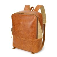 14inch laptop Vintage Genuine Backpack ,for business ,woking