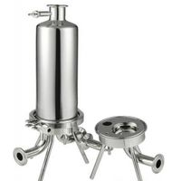SS304 filter housing / single cartridge filter / Pharmaceutical industry, Food industry, Chemical in