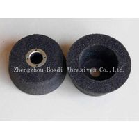 cup-shaped rail track grinding wheel with four threaded hole