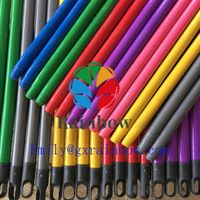 Good making machine Colorful wooden broom stick for sales