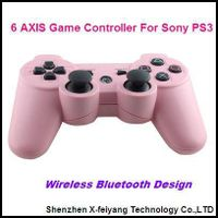 Pink  Game Controller For Sony PS3