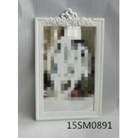 mdf /wood frame mirror