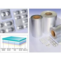 Aluminum foil used for pharmaceutical packing
