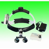 ENT surgical loupes with led head light